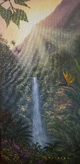 Go With the Flow 2004 Original Painting by Walfrido Garcia