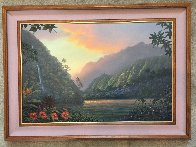 Promise And Hope 2000 32x44  Huge Original Painting by Walfrido Garcia - 2