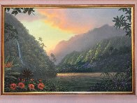 Promise And Hope 2000 32x44  Huge Original Painting by Walfrido Garcia - 1