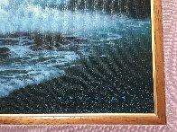 Tide Pools And Blowholes 2000 32x44 Super Huge Original Painting by Walfrido Garcia - 3