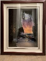 Shelter From the Storm 1996 Huge 40x34 Limited Edition Print by Walfrido Garcia - 1