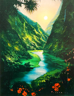River Dreams 1999 Limited Edition Print - Walfrido Garcia