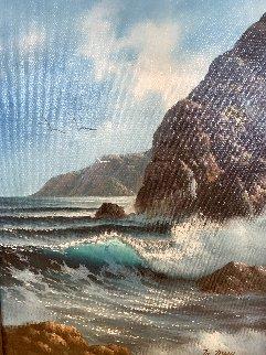 Daylight Seascape 2007 24x20 Original Painting - Walfrido Garcia