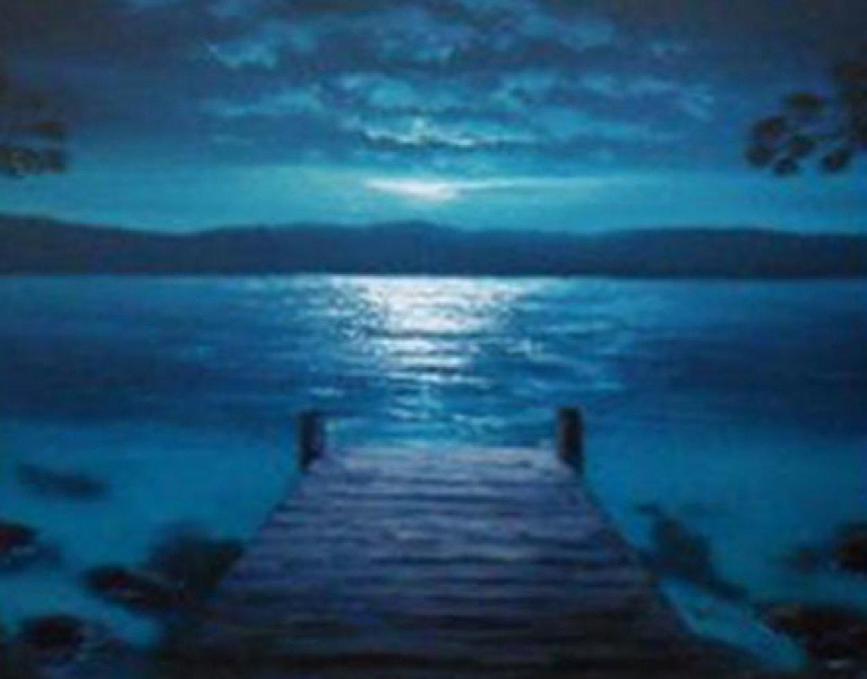 Dockside Dreams 2005 Limited Edition Print by Walfrido Garcia