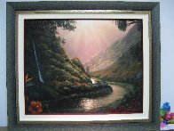 Source of Life AP Embellished Limited Edition Print by Walfrido Garcia - 1