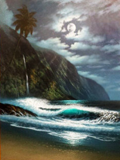 Worthy of Reflection 2006 40x30 Super Huge Original Painting - Walfrido Garcia