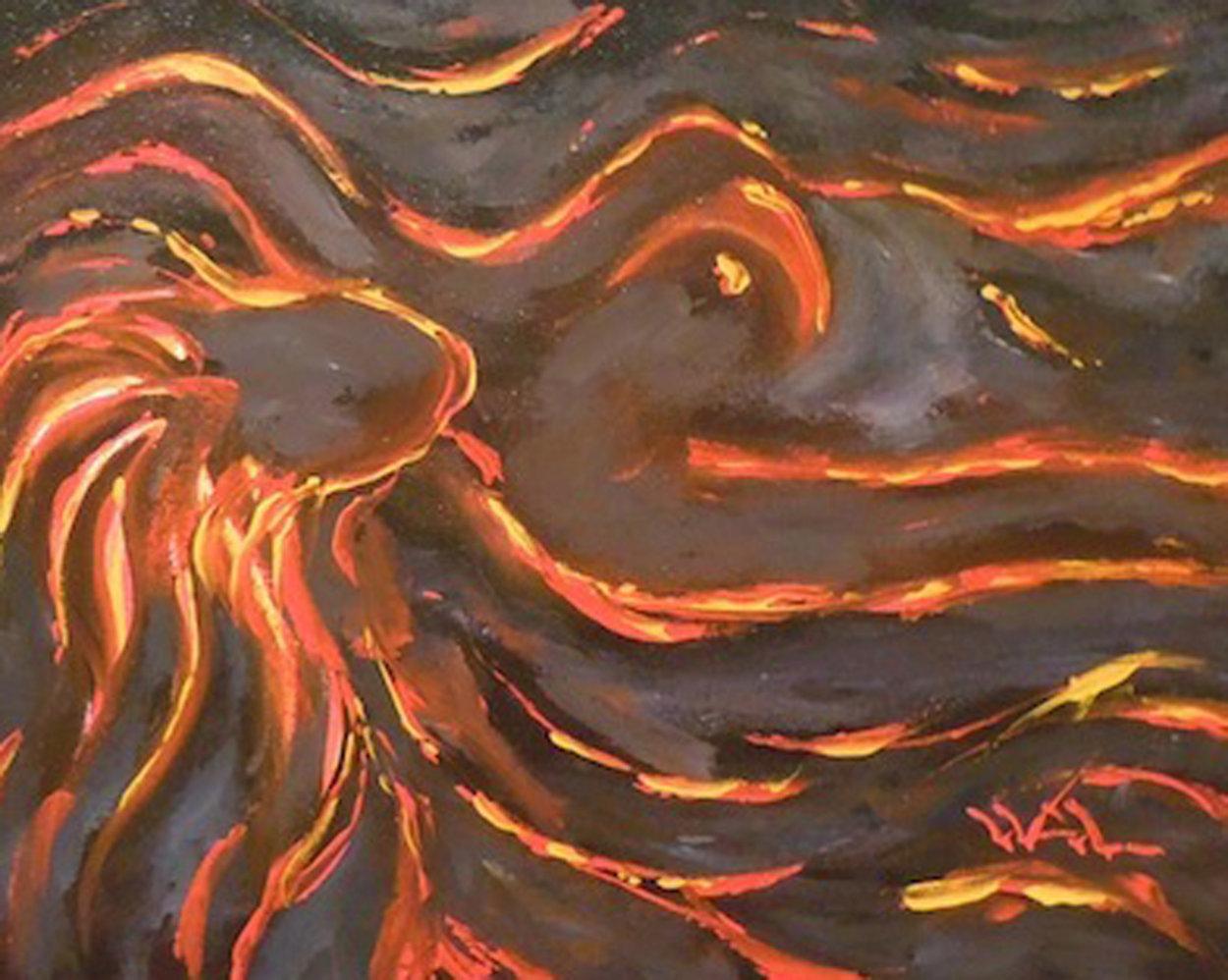 Lay Me Down 29x34 Original Painting by Walfrido Garcia
