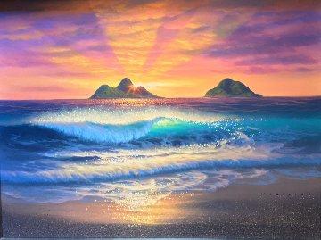 East Side Sunrise 18x24 Original Painting by Walfrido Garcia