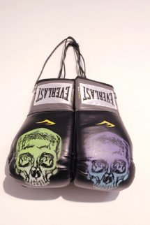 Boxing Gloves 2013 Original Painting - Nick  Walker