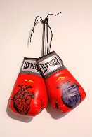 Boxing Gloves (Heart) 2013 Original Painting by Nick  Walker - 1