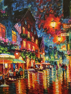 Romantic Evening Embellished 2014 Limited Edition Print by Daniel Wall