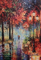 Let It Rain Embellished Limited Edition Print by Daniel Wall - 0