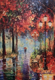 Let It Rain Embellished Limited Edition Print by Daniel Wall