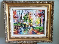 Autumn Rainy Afternoon  2014  Embellished  Limited Edition Print by Daniel Wall - 2