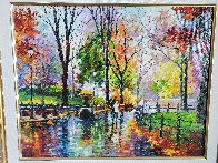 Autumn Rainy Afternoon  2014  Embellished  Limited Edition Print by Daniel Wall - 1