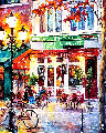 Closing Time 2017 42x36 Original Painting - Daniel Wall