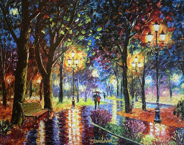 Bright and Joyful 2016 Embellished Limited Edition Print by Daniel Wall