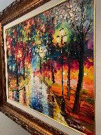 Fresh Walk 2017 35x42 Super Huge Original Painting by Daniel Wall - 6