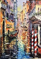 A Corner of Venice 2016 Embellished Limited Edition Print by Daniel Wall - 1