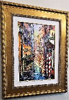 A Corner of Venice 2016 Embellished Limited Edition Print by Daniel Wall - 2
