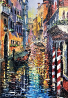 A Corner of Venice 2016 Embellished Limited Edition Print by Daniel Wall - 0