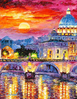 Glorious Roma Sky 2016 Embellished Limited Edition Print by Daniel Wall