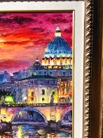 Glorious Roma Sky 2016 Embellished Limited Edition Print by Daniel Wall - 4