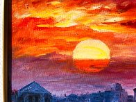 Glorious Roma Sky 2016 Embellished Limited Edition Print by Daniel Wall - 5