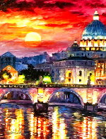 Glorious Roma Sky 2016 Embellished Limited Edition Print by Daniel Wall - 0