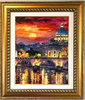 Glorious Roma Sky 2016 Embellished Limited Edition Print by Daniel Wall - 1