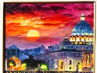 Glorious Roma Sky 2016 Embellished Limited Edition Print by Daniel Wall - 2
