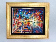 Beautiful Grand Canal 2010 35x41 Super Huge Original Painting by Daniel Wall - 2