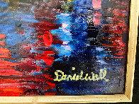 Beautiful Grand Canal 2010 35x41 Super Huge Original Painting by Daniel Wall - 3
