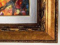 Romantic Mist Original 2012 35x42  Original Painting by Daniel Wall - 5
