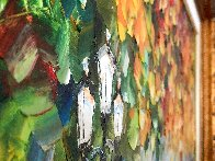 Romantic Mist Original 2012 35x42  Original Painting by Daniel Wall - 2