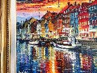 Beautiful Copenhagen 2014 43x52 Huge   Original Painting by Daniel Wall - 4