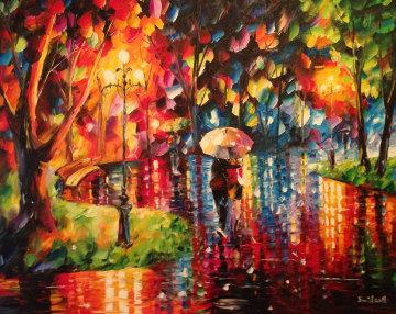 Sharing 26x32 Original Painting - Daniel Wall