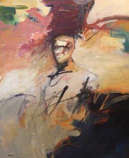Awakening 46x35 Original Painting - Jean Wallin