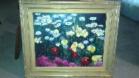 Poppies And Lillies 26x32 Original Painting by Scott Wallis - 1