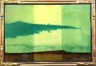 Dry Land 1996 33x23 Original Painting by Tal Walton - 2