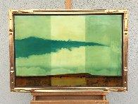 Dry Land 1996 33x23 Original Painting by Tal Walton - 3