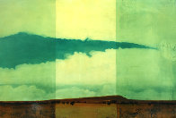 Dry Land 1996 33x23 Original Painting by Tal Walton - 0