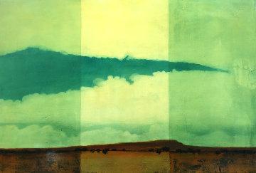 Dry Land 1996 33x23 Original Painting - Tal Walton