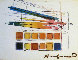 Watercolor Paint Kit With Brushes Limited Edition Print by Andy Warhol - 0