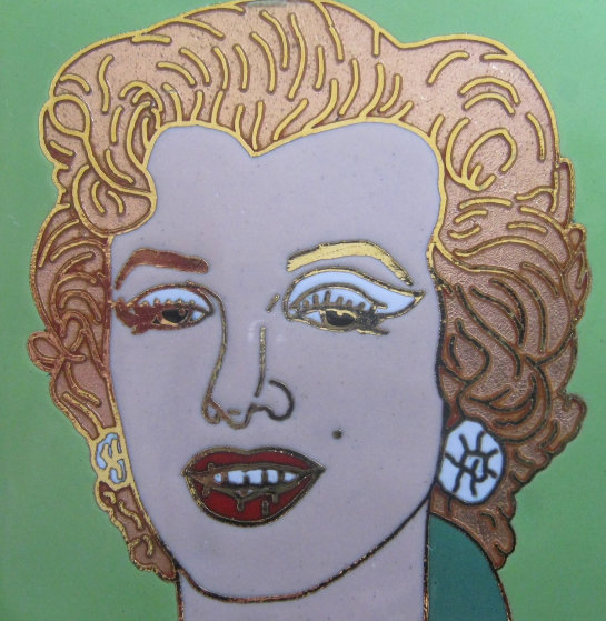 Green Marilyn Jewelry by Andy Warhol