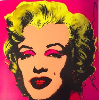 Marilyn - Castelli Graphics Invitation 1981 Other - Andy Warhol