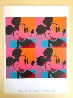 Myths: Mickey Mouse Poster 1981 Limited Edition Print by Andy Warhol - 1