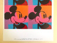 Myths: Mickey Mouse Poster 1981 Limited Edition Print by Andy Warhol - 2