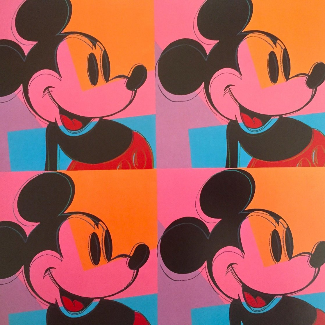 Myths: Mickey Mouse Poster 1981 Limited Edition Print by Andy Warhol