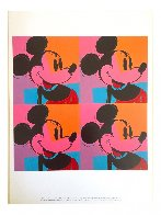 Myths: Mickey Mouse Poster 1981 Limited Edition Print by Andy Warhol - 5